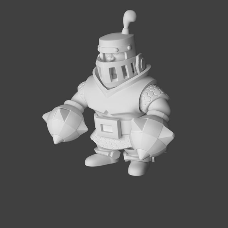 mega knight render 3
